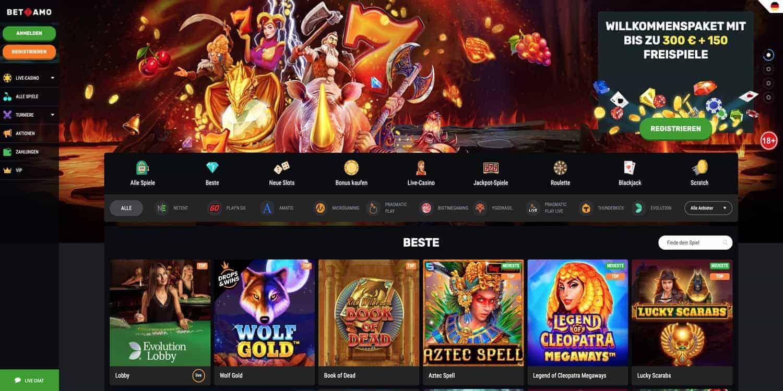 Bonus Betamo Casino