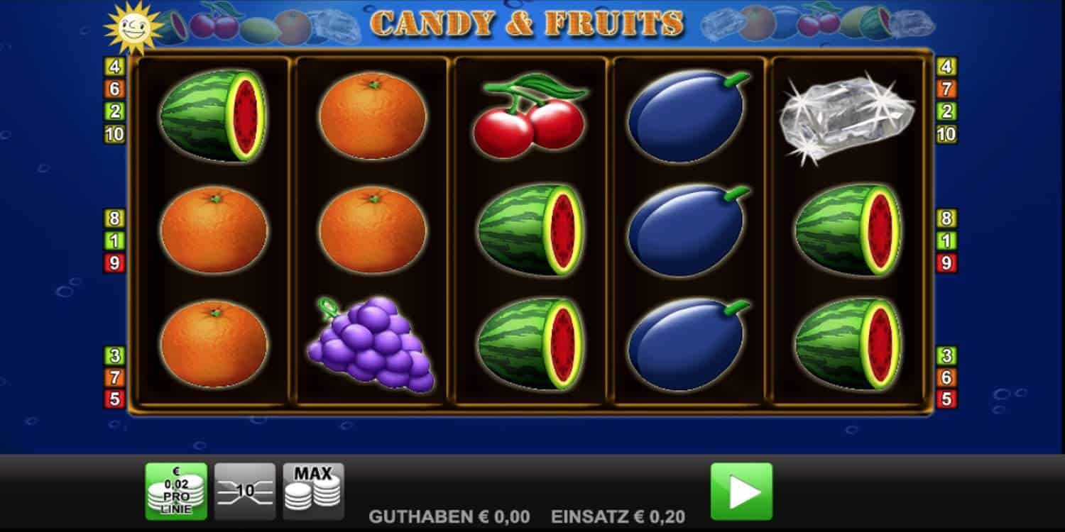 Candy & Fruits Slot