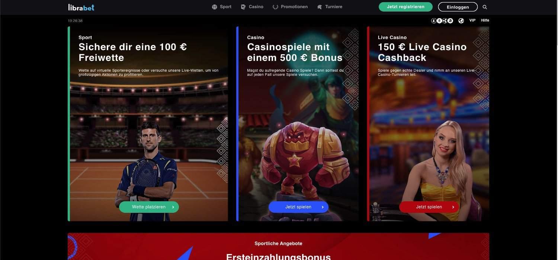Home Librabet Casino
