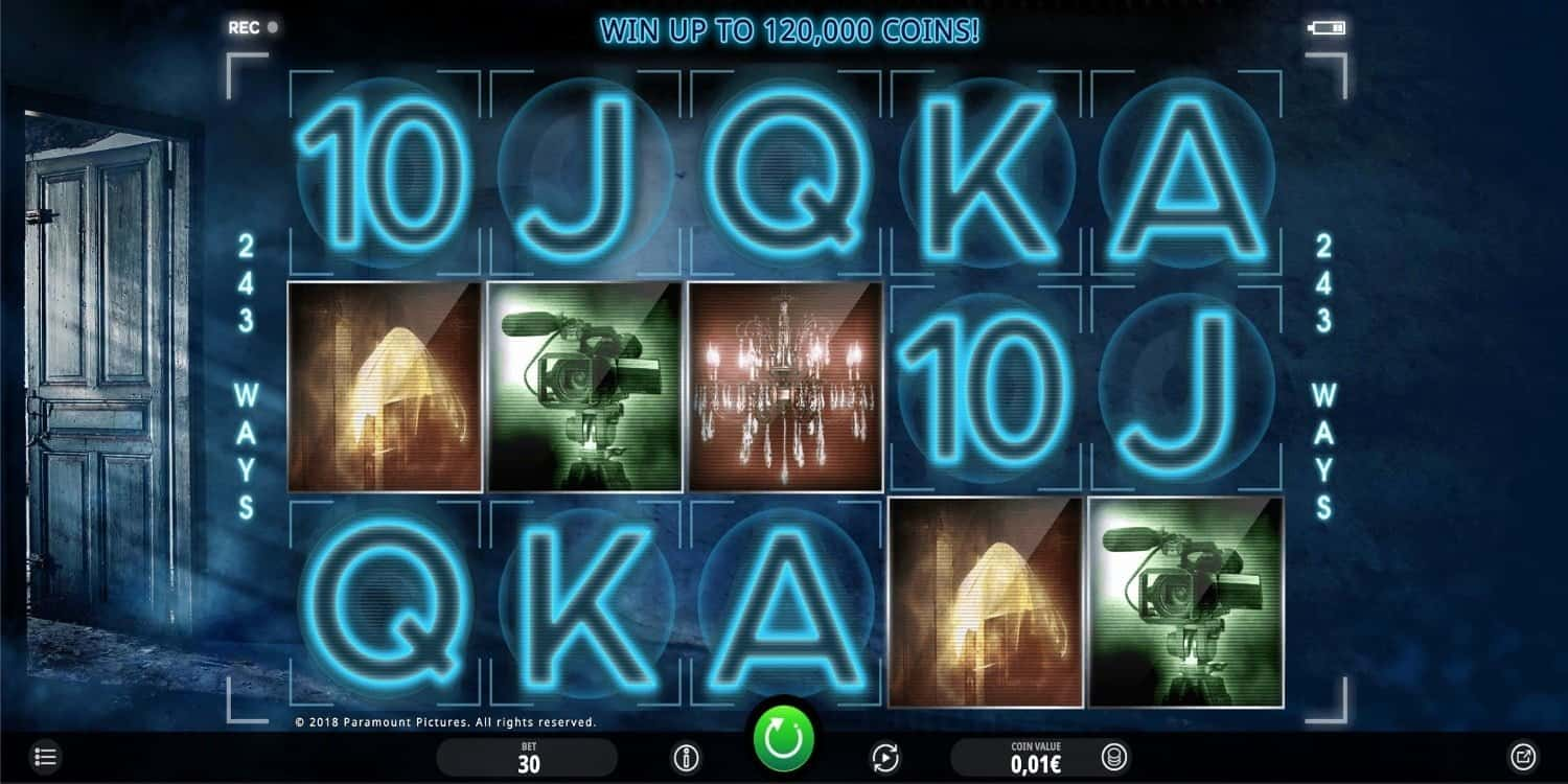Paranormal Activity Slot iSoftBet