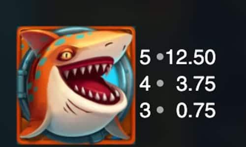 Razor Shark Hai Orange