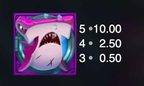 Razor Shark Hai Violett