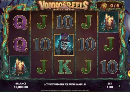 Voodoo Reels Unlimited Free Spins Slot