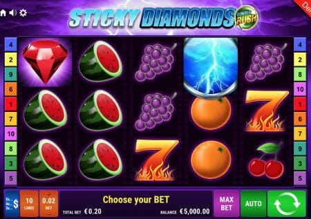 Sticky Diamonds Double Rush