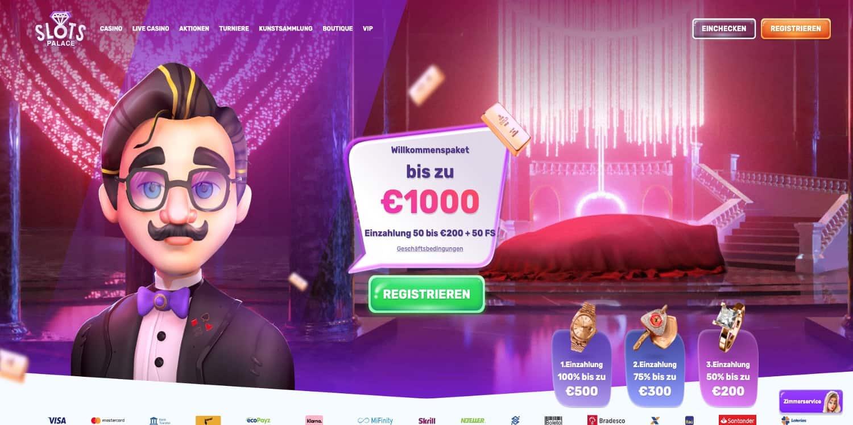 SlotsPalace Casino Bonus