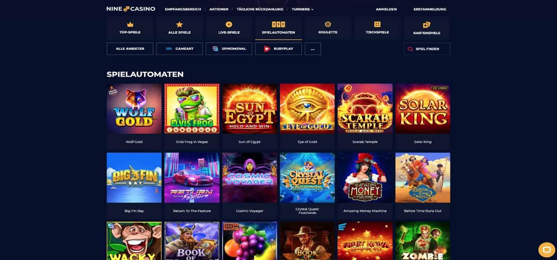 Nine Casino Slots